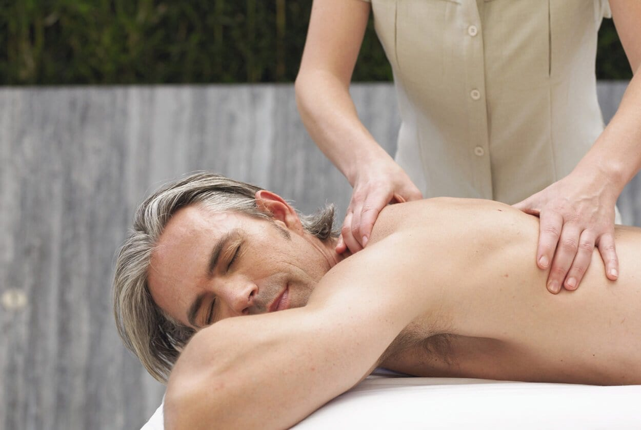 Get an a erection i during happens massage what if Male intimate