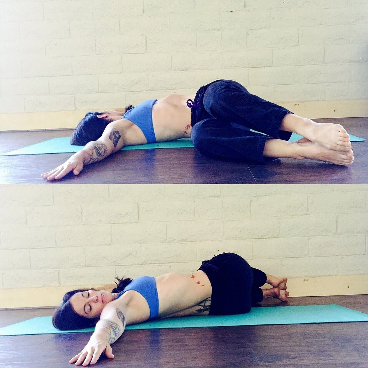 Two knee twist - Top 5 exercises for lower back pain
